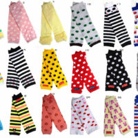 6 pairs Baby Toddler Socks Warmer Knee Pad Kids Tight Legging Sock