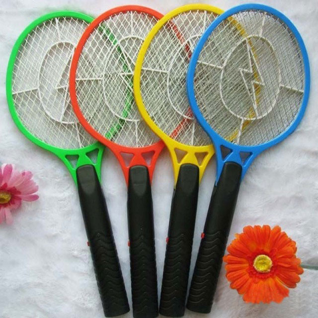 Handheld Electronic Bug Zapper Insect Fly Swatter Mosquito Killer