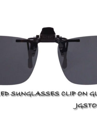 POLARIZED SUNGLASSES CLIP ON GLASSES