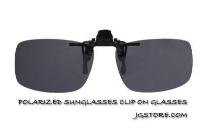 POLARIZED SUNGLASSES CLIP ON GLASSES