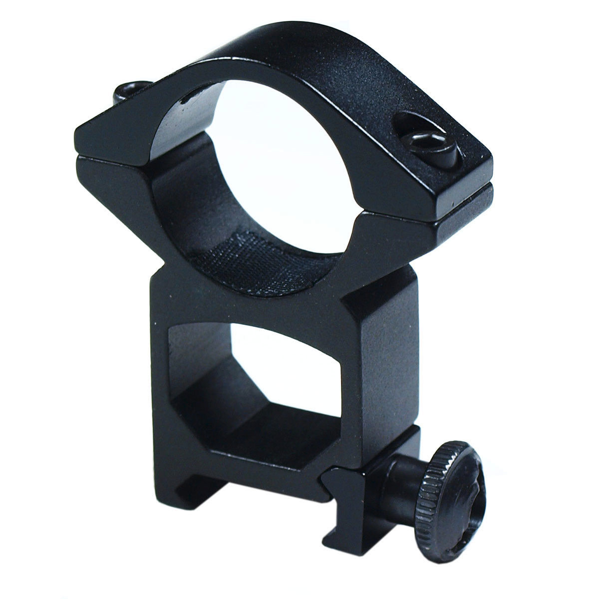 1 inch Scope Rings High Profile Picatinny Weaver Rail Laser Flashlight Mount