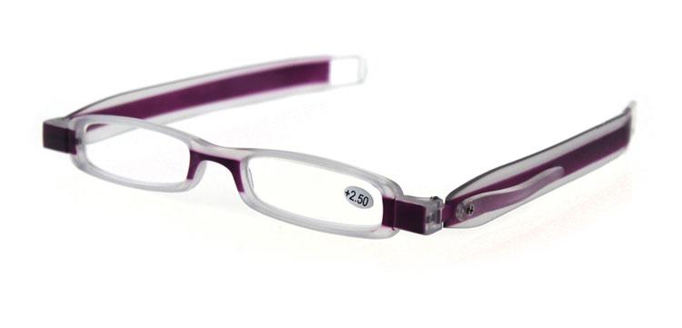 360° rotating folding reading glasses portable lightweight mini presbyopic glasses + gifts