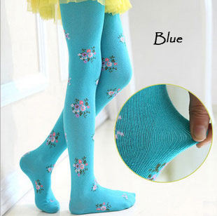Baby Kids Boy Girl Toddler Tights Pantyhose Pants - Blue