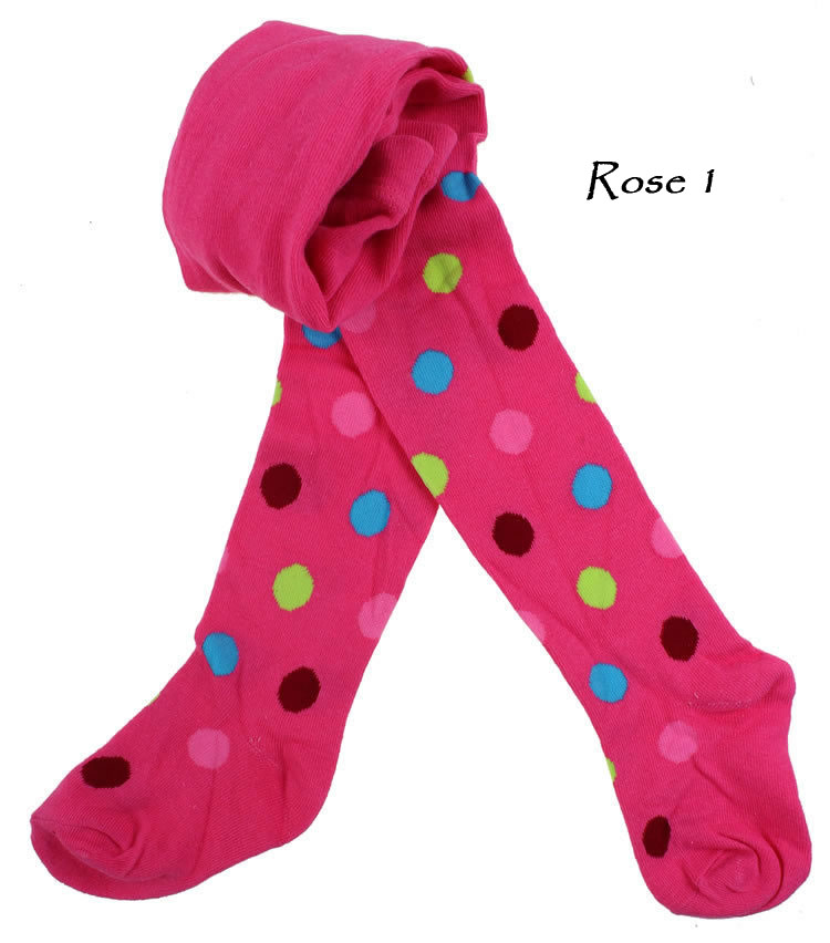 Baby Kids Boy Girl Toddler Tights Pantyhose Pants - Rose 1
