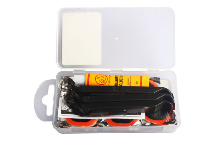 Bike Tire Repair Kits - Plastic Box