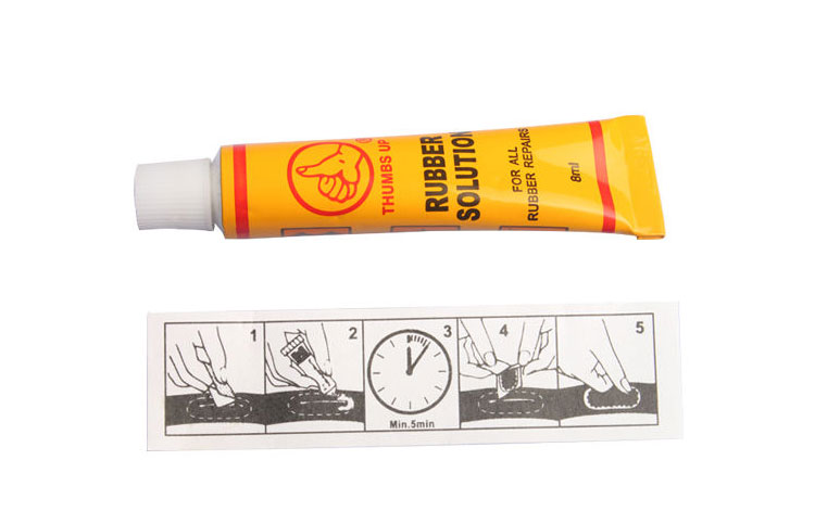 Bike Tire Repair Kits - 10cc Rubber Solution