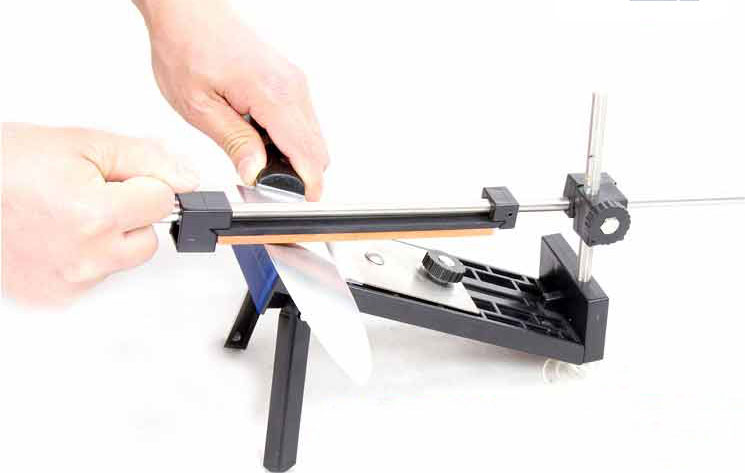 Fix-angle Sharpening Cutlery Knife Sharpener System Kitchen Tools