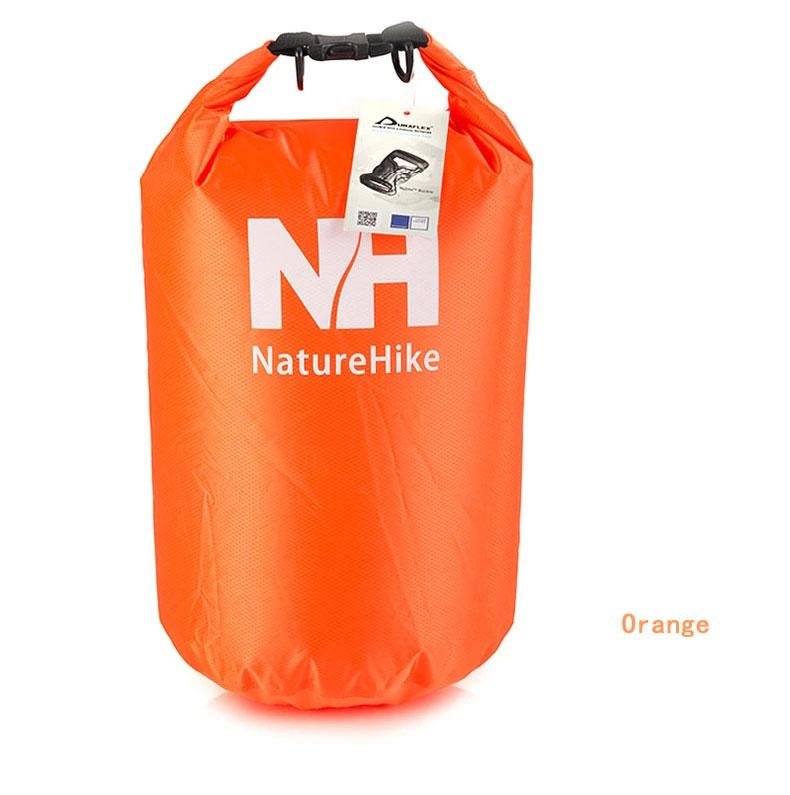 Outdoor Travel Sports Waterproof Dry Bag Ultralight Rafting Wading Bag - Orange
