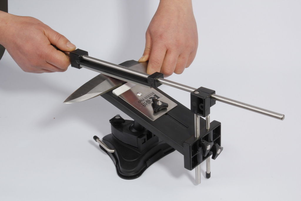 Sharpening Knife Sharpener System Fix-angle 4 Stones