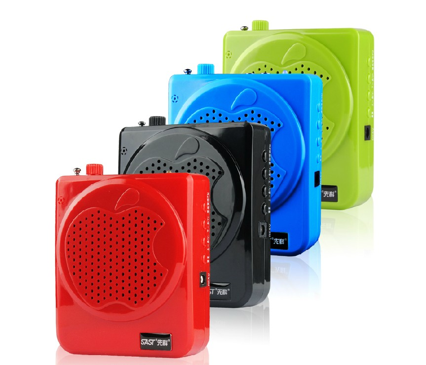 Super Loud Speaker Portable PA System MP3 Player USB / TF CARD / FM Scan Radio - Color