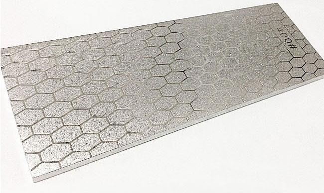 Two Sides Diamond Coating Whetstone Sharpener Stone & Adjustable Sharpener Holder