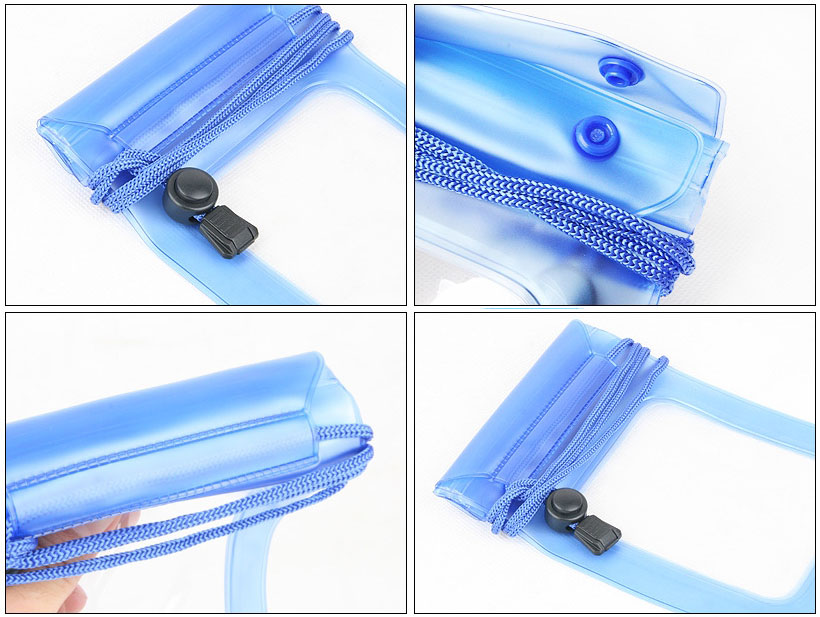 Underwater Pouch Waterproof Bag Dry Case Cover For Mobile Phone / Camera - Detail