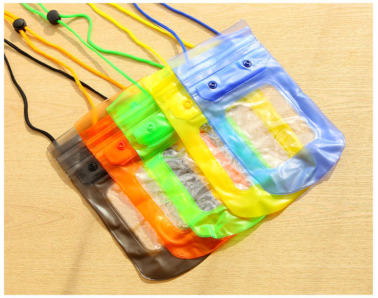 Underwater Pouch Waterproof Bag Dry Case Cover For Mobile Phone / Camera - Color