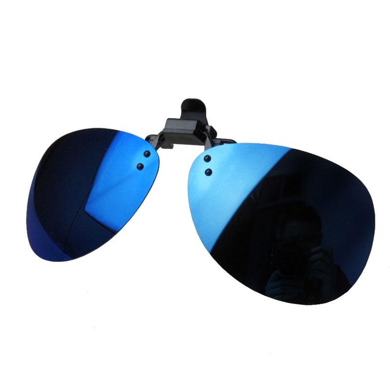 Toad polarized sunglasses clip Blue