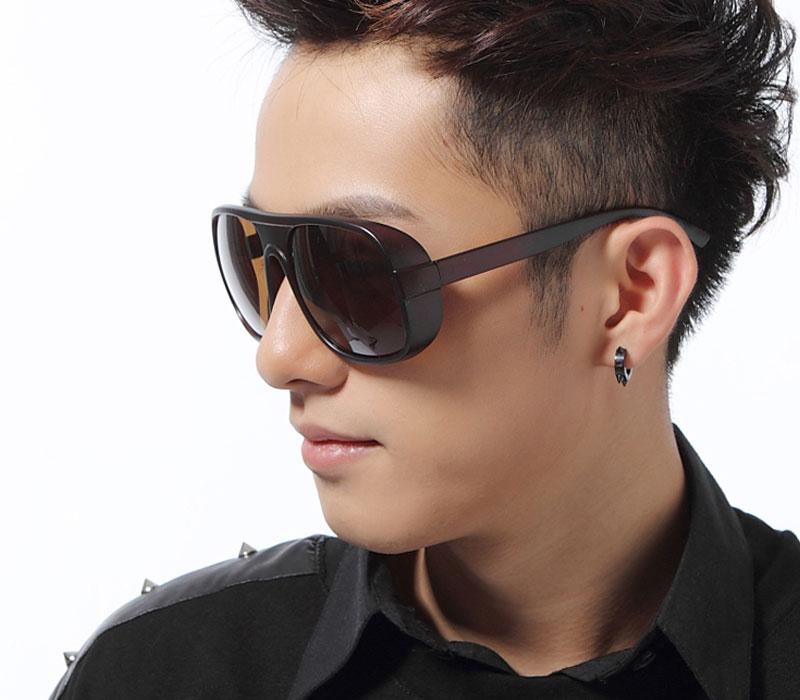 Fashion-Black-Brown-Leopard-Eyewear-Toad-Sunglasses-male-model