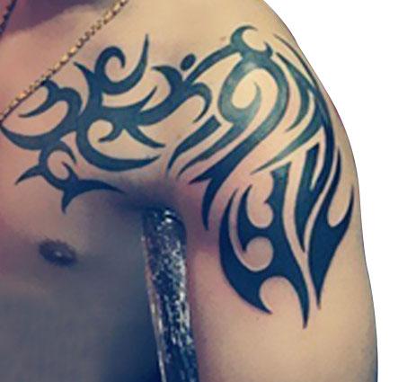 Shoulder Tribal Temporary Tattoos