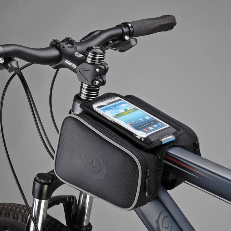 High Quality Bike Bicycle Frame Pannier Head Top Tube Bag Front Tube Bag Saddle Bags