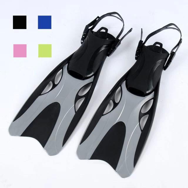 Adjustable Scuba Flippers Snorke Foot Fins