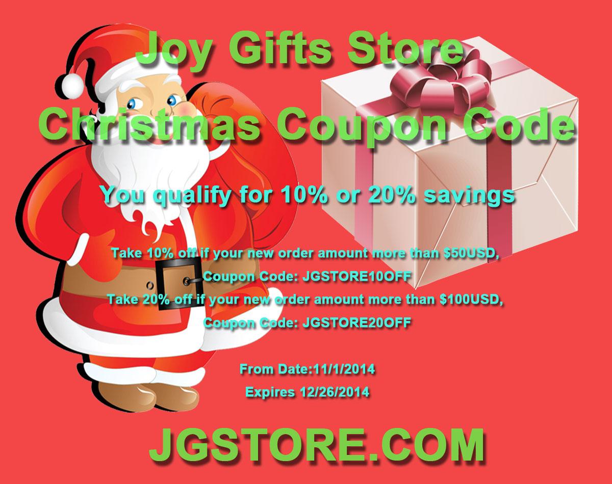 Joy Gifts Store Christmas Coupon Code