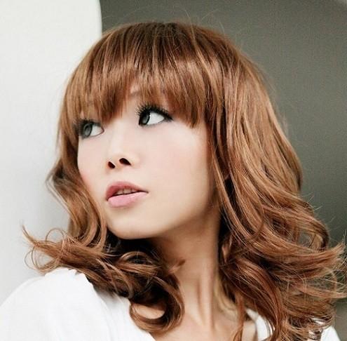 Sexy long curly wigs dark brown  light brown  black