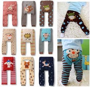 9 pcs Baby Toddler Boys Girls Leggings Tights Pants