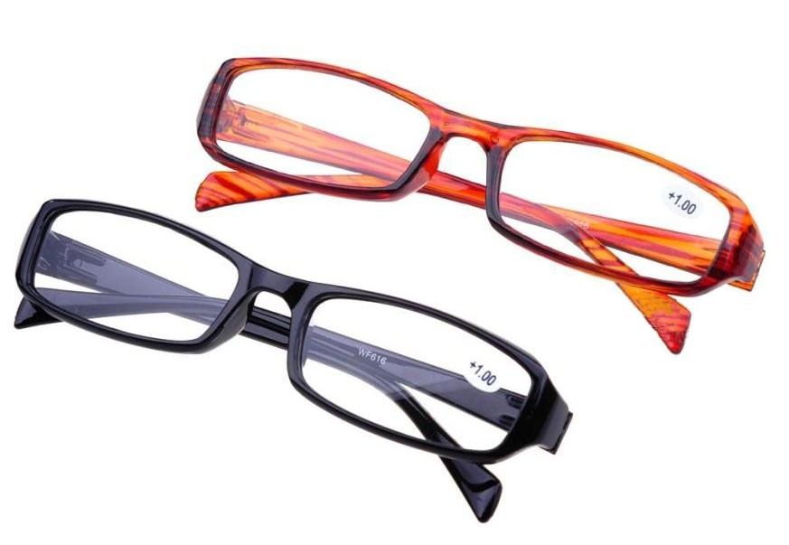 Choose Your Strength Classic Fashionable Style Reading Glasses Black & Tortoise