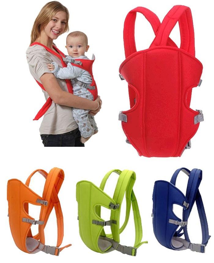 Newborn Infant Baby Carrier Backpack Rider Sling Comfort Wrap Bag