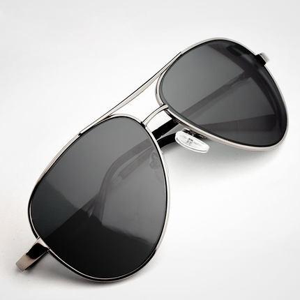 Retro vintage aviator men's and women's polarized sunglasses