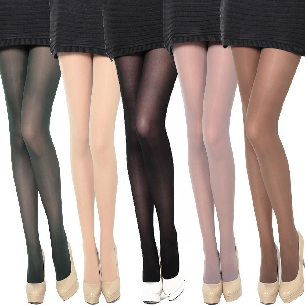 5pcs Sexy Crotchless Pantyhose Sheer Stockings Tights