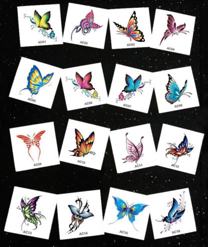 Butterfly Totem Waterproof Temporary Tattoos